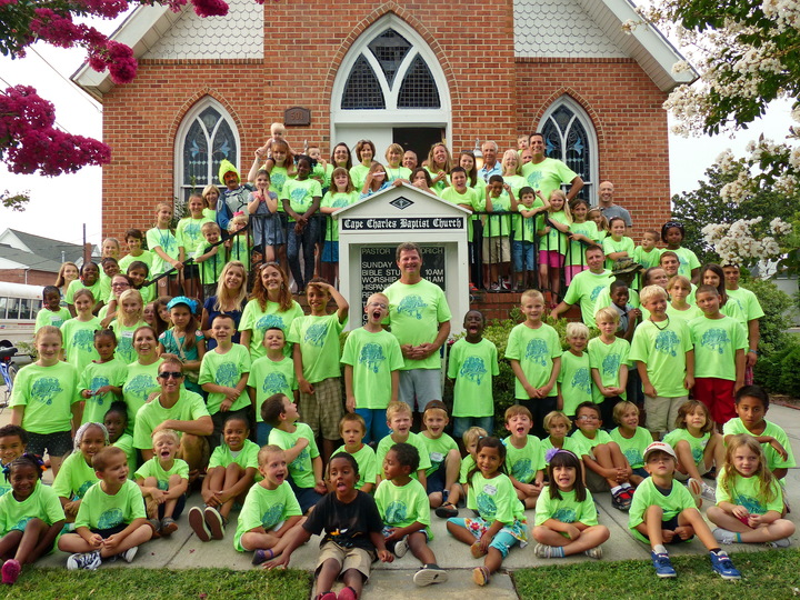 Mega Sports Camp Cape Charles Baptist T-Shirt Photo