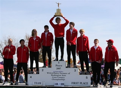 Sgs Boys Xc Wins State Title Wearing Custom Ink Design! T-Shirt Photo