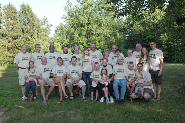 Boge Family Reunion In Sturgeon Bay, Wi T-Shirt Photo