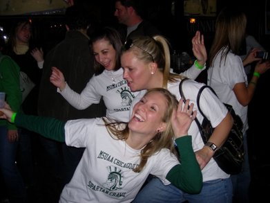 Msu Crawl!  Go Green! T-Shirt Photo