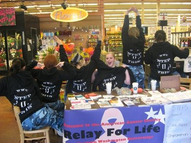 Step2 This Fundraising For Relay For Life! T-Shirt Photo