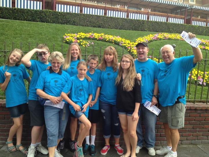 Devine Family Gets Goofy! T-Shirt Photo