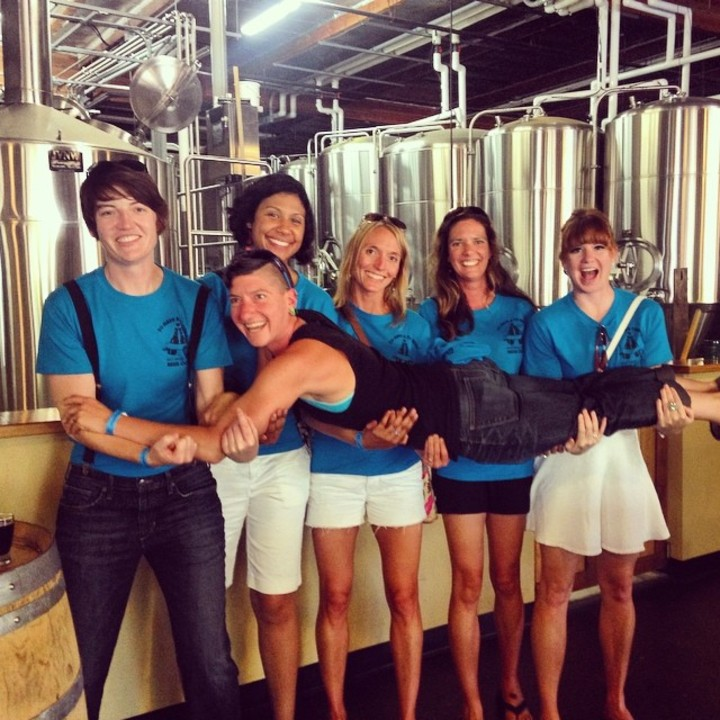 Bachelorette Brewery Tour T-Shirt Photo