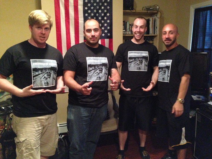 Midnight High Repping Our New Merch! T-Shirt Photo