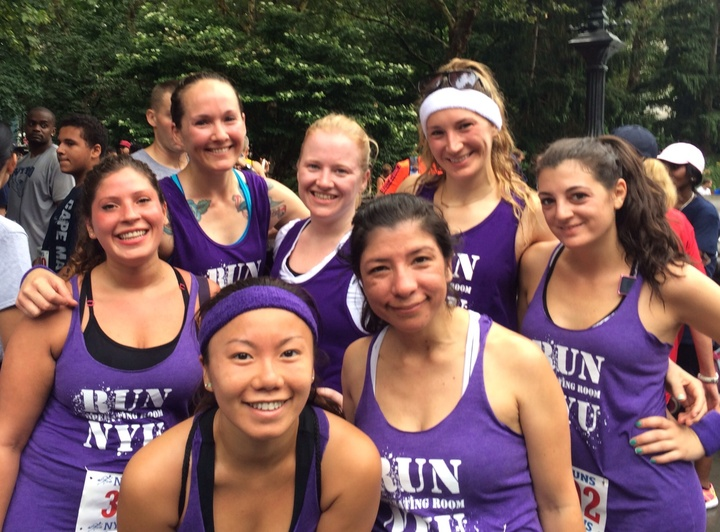 Nyu Or Running Team T-Shirt Photo