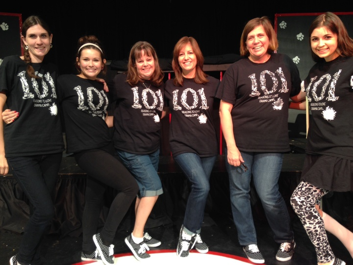 Drama Camp Staff Rocks Out Their Tees's! T-Shirt Photo
