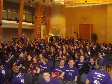 Purple For Peace Movement At K.D.H.S T-Shirt Photo