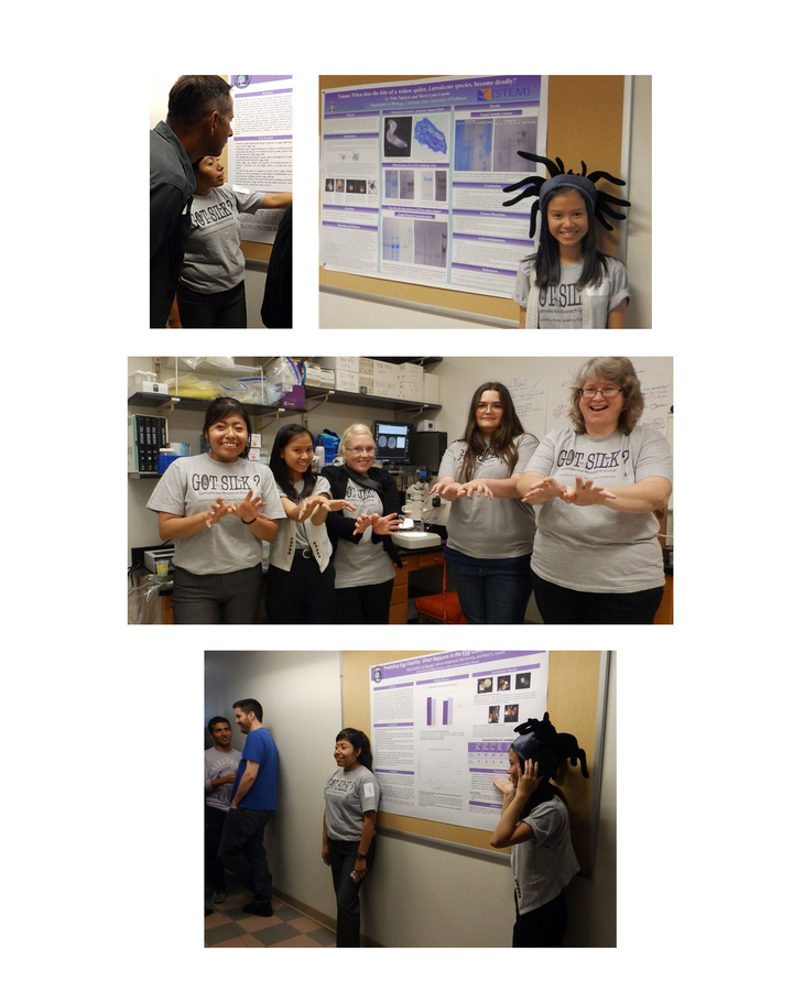 The Spider Lab At Cal State Fullerton Has Got Silk! T-Shirt Photo