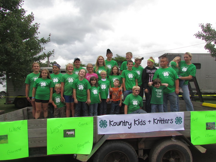 Kountry Kids And Kritters 4 H Group T-Shirt Photo