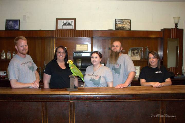 Midwest Paranormal Files And The Haunted Parrot T-Shirt Photo