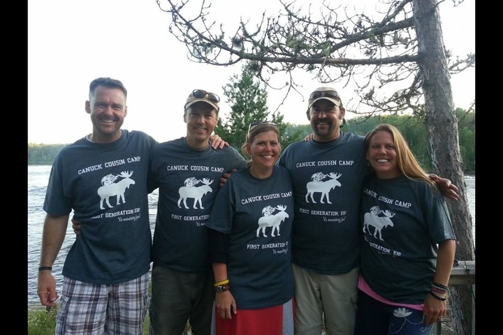 Canadian Cousin Camp T-Shirt Photo