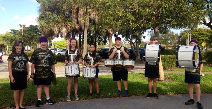 Gloria Dei Drumline   Orange Blossom Parade T-Shirt Photo