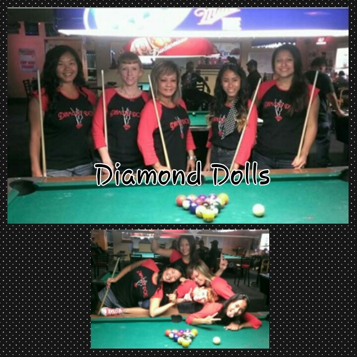 Reigning Diamond Dolls T-Shirt Photo