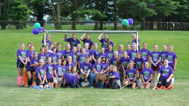 Stick It To Mito Field Hockey Charity Event.   T-Shirt Photo
