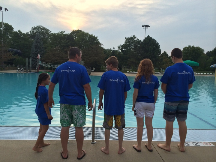 1st Water Baptism T-Shirt Photo
