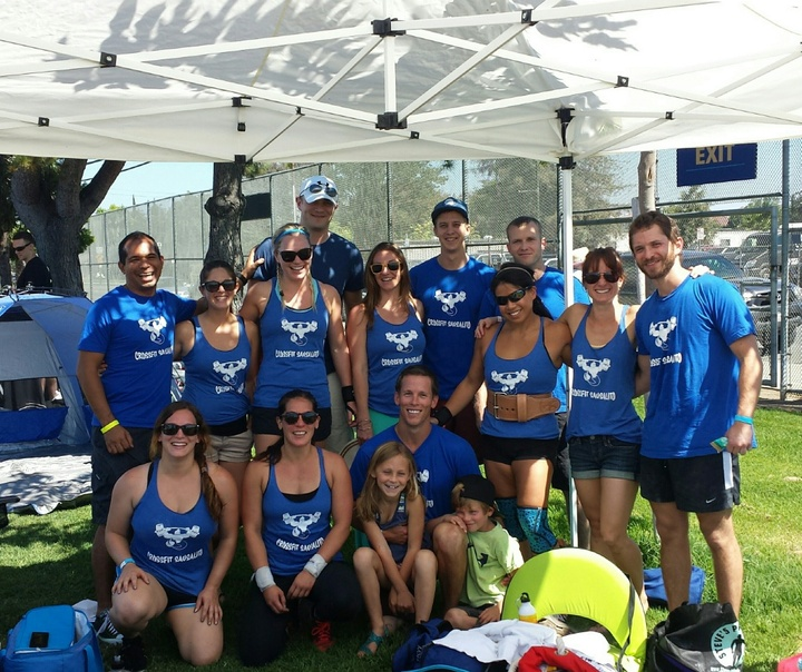 Cross Fit Sausalito's Team Squatalito At Moxie Madness! T-Shirt Photo