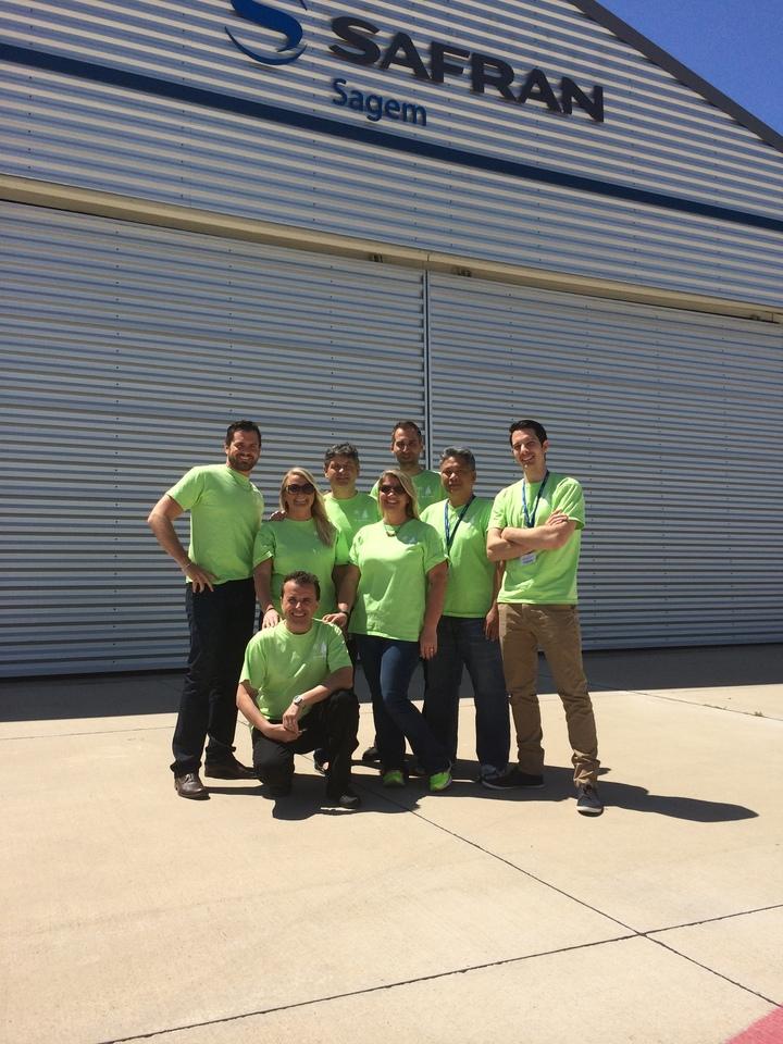 Sagem Avionics Sailing Team 2014 T-Shirt Photo