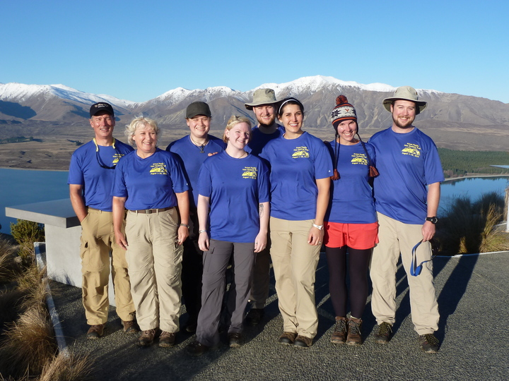 Privon Family In New Zealand T-Shirt Photo