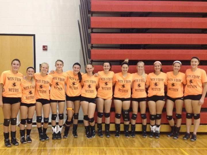 Marine City Volleyball T-Shirt Photo