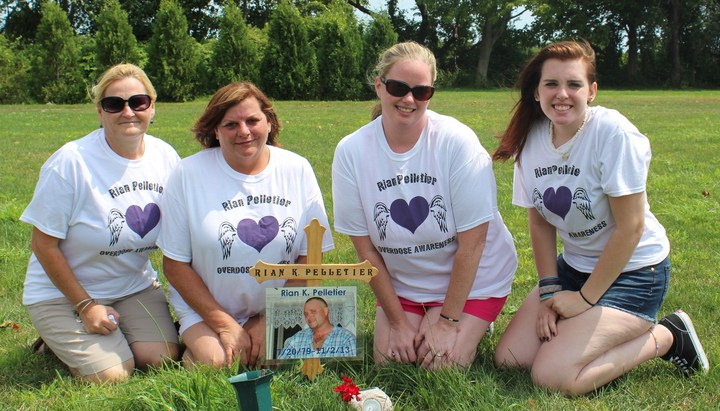 Rian Pelletier Overdose Awareness T-Shirt Photo