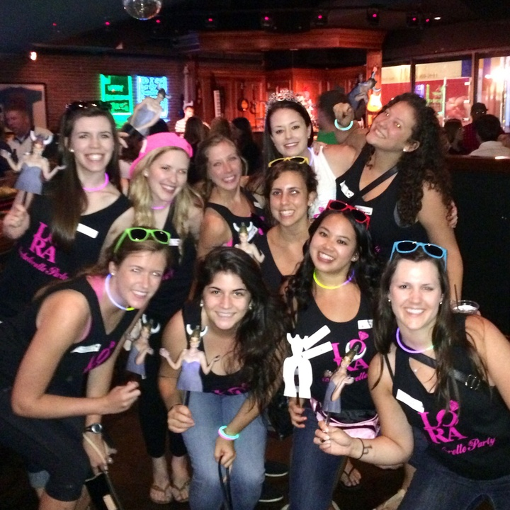 Lora's Bachelorette Party! T-Shirt Photo