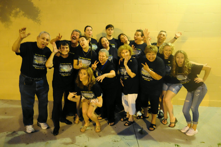 Cast Of Moon Over Buffalo... Lunatics!   T-Shirt Photo