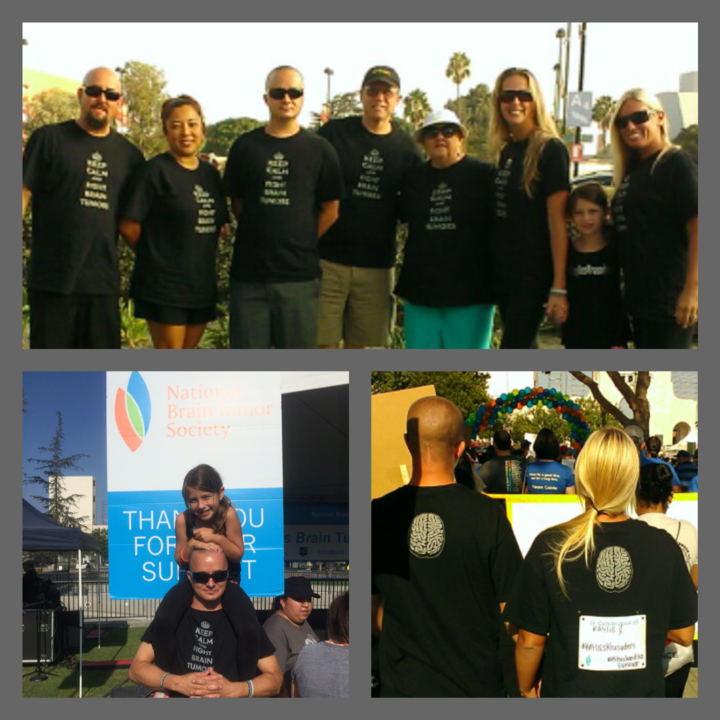 La Brain Tumor Walk 2014 T-Shirt Photo