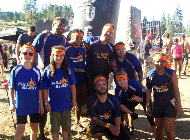 Full Blast After Tough Mudder T-Shirt Photo