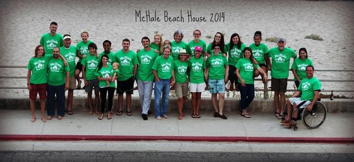 Mc Hale Family Beach House 2014 T-Shirt Photo