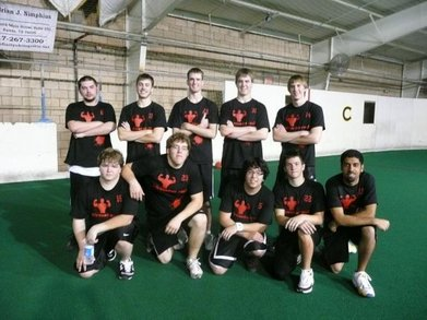 Team Adrenaline Rush: Texas Dodgeball Champions T-Shirt Photo