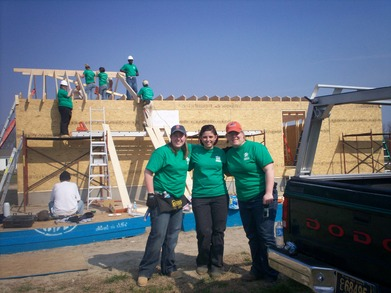 Spring Break With Habitat For Humanity T-Shirt Photo