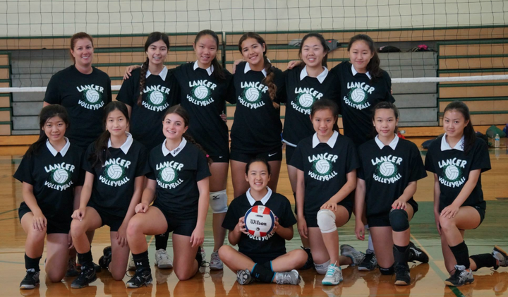 Livingston Girls Jv Volleyball T-Shirt Photo