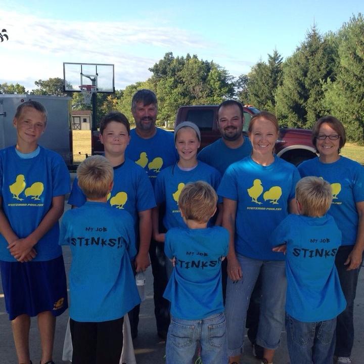 The Chicken Crew! T-Shirt Photo