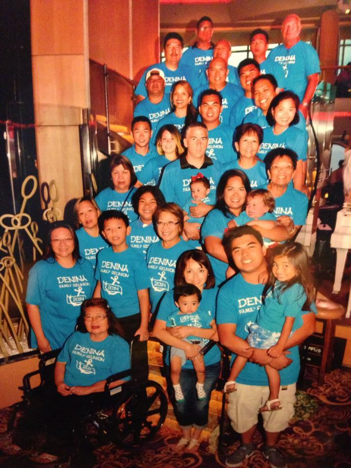 Denina Family Reunion 2014 T-Shirt Photo