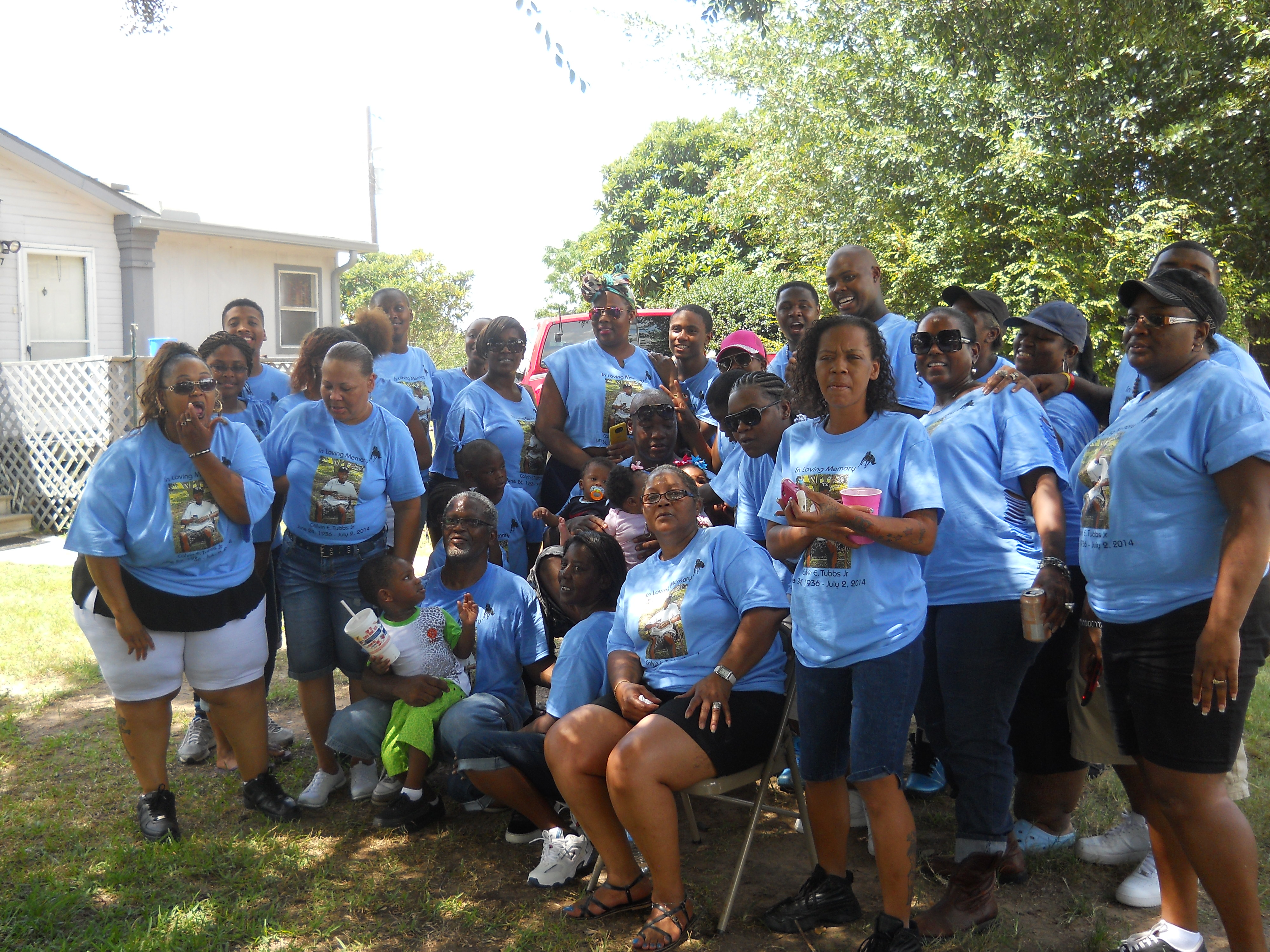Design your own t-shirt for family reunion - Tubbs Family Reunion 2014 T Shirt Photo