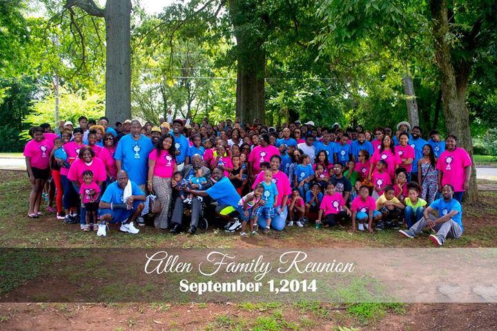 2014 Allen Family Reunion T-Shirt Photo