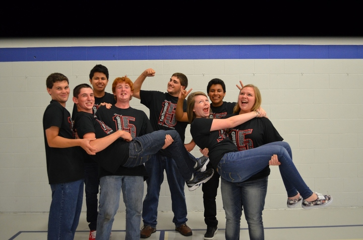 Excitement From The Class Of 2015 T-Shirt Photo
