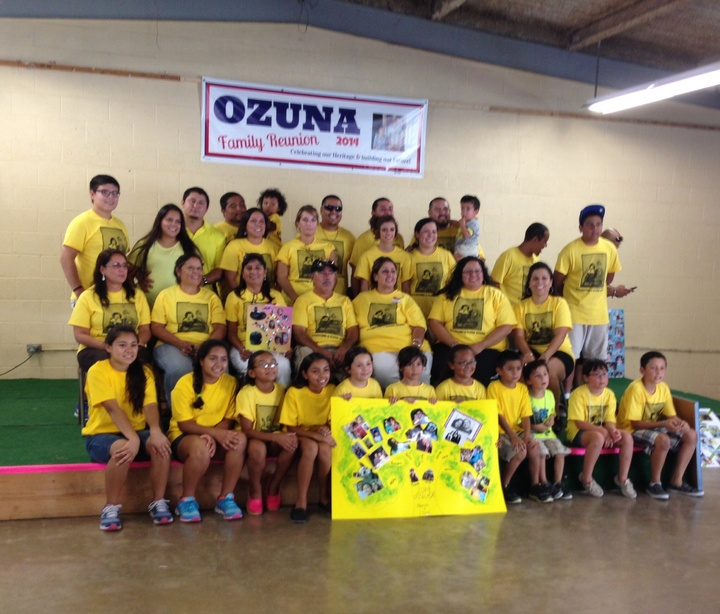 Ozuna Family Reunion T-Shirt Photo