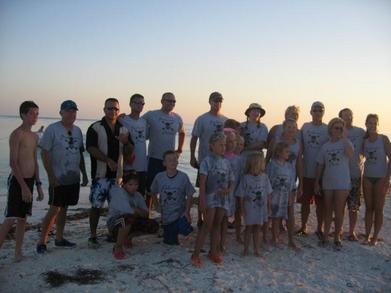 Backwater Pirate Sunset At Boca Grande Key T-Shirt Photo