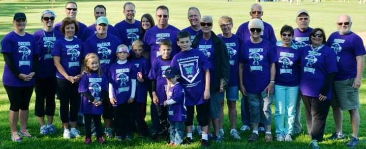 Team Deenie Walk For Ovarian Cancer T-Shirt Photo