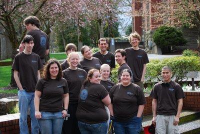 Pi Day At Pacific University T-Shirt Photo