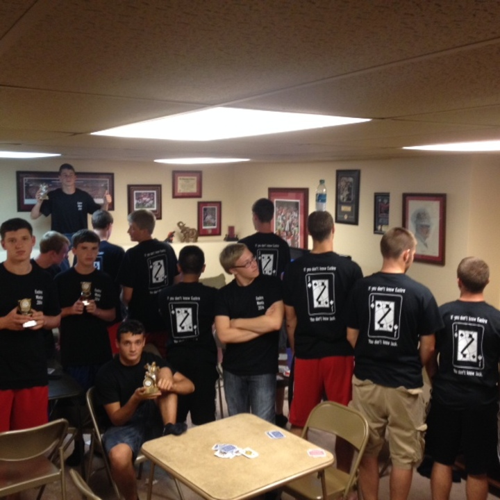 Euchre Mania 2014 T-Shirt Photo