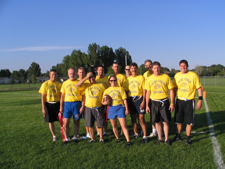 Flag Football T-Shirt Photo