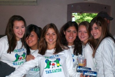 Trideltas Tailgatingggg T-Shirt Photo
