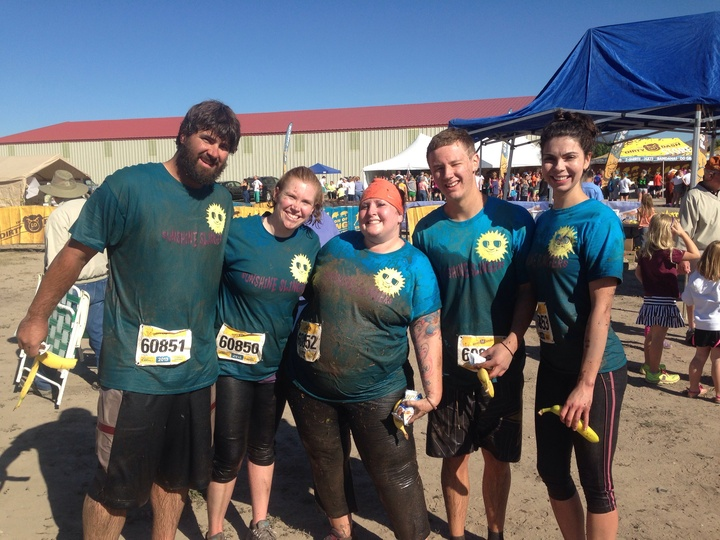 Sunshine Slingers Dirty Dash 2014 T-Shirt Photo