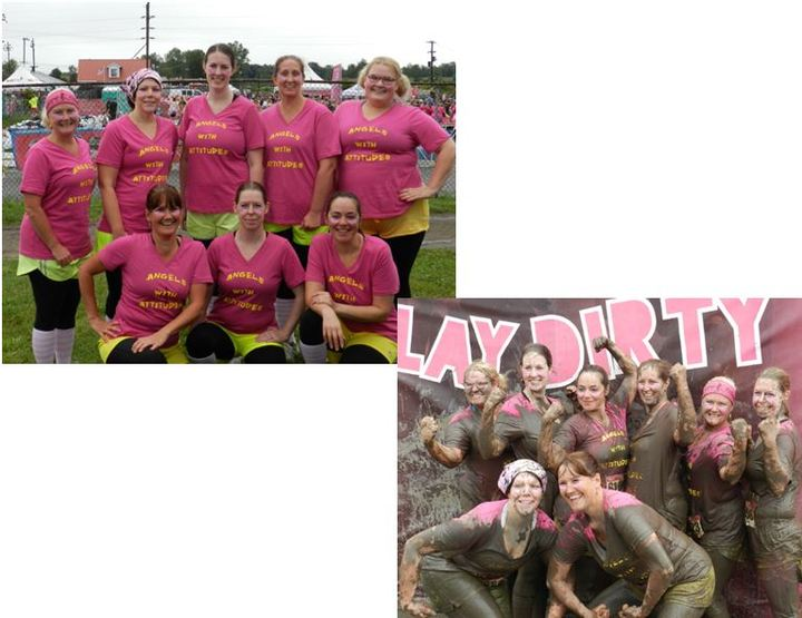 Dirty Girl Mud Run 2014 T-Shirt Photo