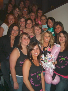 Calee's Bachelorette Bash! T-Shirt Photo
