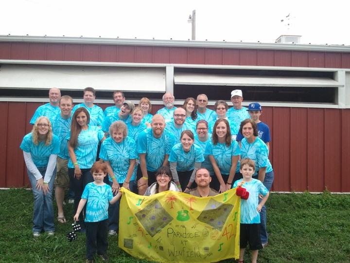 Camp Paradice T-Shirt Photo