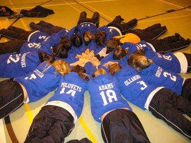 Aas Moscow Varsity Girls Soccer Team T-Shirt Photo
