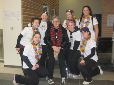 Laurier's Kpe Event Committee With Brent Mc Farlane T-Shirt Photo
